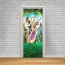 Disney Tangled Decal Removable Wall Sticker Home Decor Art Rapunzel Maximus Kids
