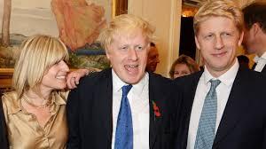 In the UK, Boris Johnson's family is ...