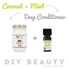 organic coconut mint deep conditioner