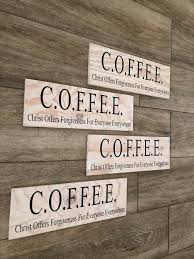 Kitchen Sign Re3120 Breakfast Nook Coffee Christ Offers Forgiveness For Everyone Everywhere Vinyl Wall Decal By Wild Eyes Signs Dining Room Church Wall Decal Kitchen Decor Sareg Com