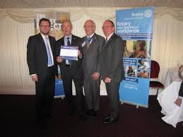 Robin Hamilton - Champion of Change - Rotary Club of Dunbar