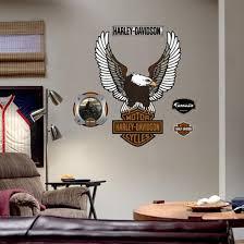 Harley Davidson Logo Wall Decal Allposters Com