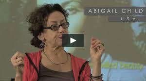 Abigail Child on Vimeo