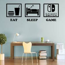controller gaming decals wall art