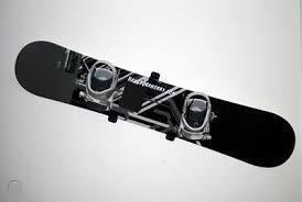 wht snowboard wall mounts display rack
