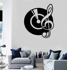 Wall Stickers Vinyl Decal Music Musical Instrument Cup Decor For Room Ig1083