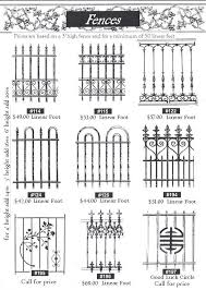Http Metalsandnature Com Gates Fencesheet2 Jpg Wrought Iron Gate Designs Wrought Iron Fences Wrought Iron Gates