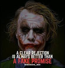 why unnccessery expectations joker quotes villain quote