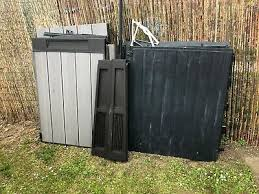 horizontal storage garden shed