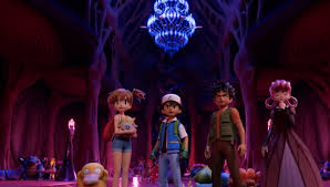 The CGI remake of the original Pokemon movie looks...interesting