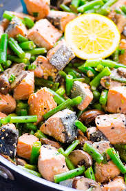 salmon stir fry ifoodreal