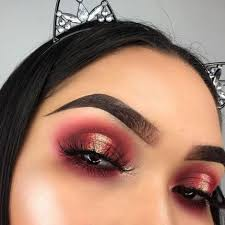 10 red eye makeup looks you ll want to