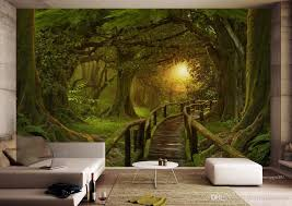 Custom Wallpaper For Walls 3 D Photo Forest Wall Wallpapers For Living Room Bedroom 3d Wallpaper Wall Mural Celebrity Wallpapers Cell Phone Wallpapers From Yeyueman6666 27 14 Dhgate Com