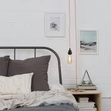 standard plug in pendant light plug