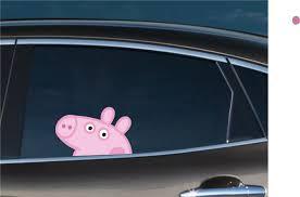 Peppa Pig Peeking Bomex Graphics