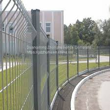 Welded Wire Mesh Fence Buy Guangzhou Fence Factory 3d Panels Welded Wire Mesh Fence In 6 Gauge On China Suppliers Mobile 159026189