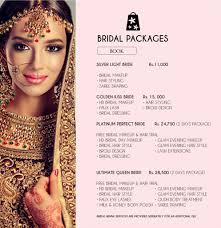 makeup packages for weddings saubhaya