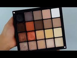 inglot top 20 neutral eyeshadows