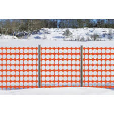 Tenax Snow Guard 100 Ft X 48 In Orange Sand Snow Fence In The Erosion Fencing Department At Lowes Com