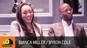 Apprentice Star Bianca Miller & Byron Cole | Selfmade Book - YouTube