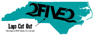 Turquoise Teal 252 Nc Decal Sticker 2five2