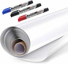 Whiteboard Sticker Paper Sheets Easy Peel And Stick Dry Erase Contact Paper Upgrade 11 Ft Extra