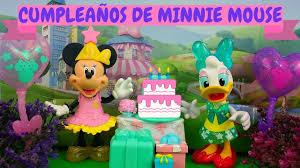 Minnie Mouse Celebra Su Cumpleanos Youtube