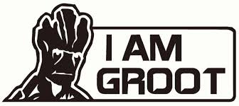 Guardians Of The Galaxy I Am Groot Vinyl Decal Sticker Collector S Heaven