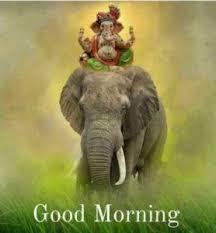 good morning ganesh images hd ganesha