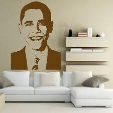 Barack Obama United States Celebrity Wall Sticker Art Mural Transfer Vinyl C16 Sticker Wall Art Mural Wall Sticker