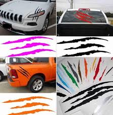 Made In Usa Auto Car Sticker Reflective Monster Scratch Stripe Etsy