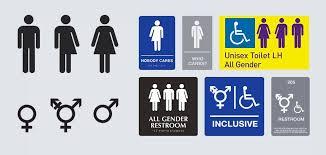 universal restroom symbol