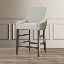 nisbett dove grey bar stool