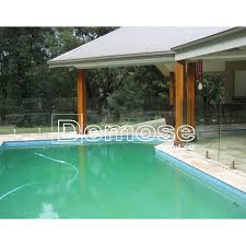 Above Ground Swimming Pool Frameless Glass Balustrade Put On Sale View Above Ground Swimming Pool Demose Protect A Child Pool Fence Product Details From Foshan Demose Hardware Products Co Ltd On Alibaba Com