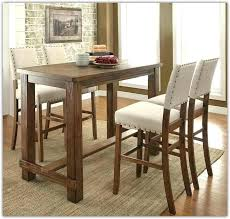 bar height dining table with leaf and