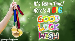 the best good luck messages for exams greetings