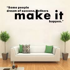 Wall Sticker Motivational Quotes Wall Decor Company Office Decals Living Room Decoration Inspirational Quote Removable Wall Stickers Aliexpress