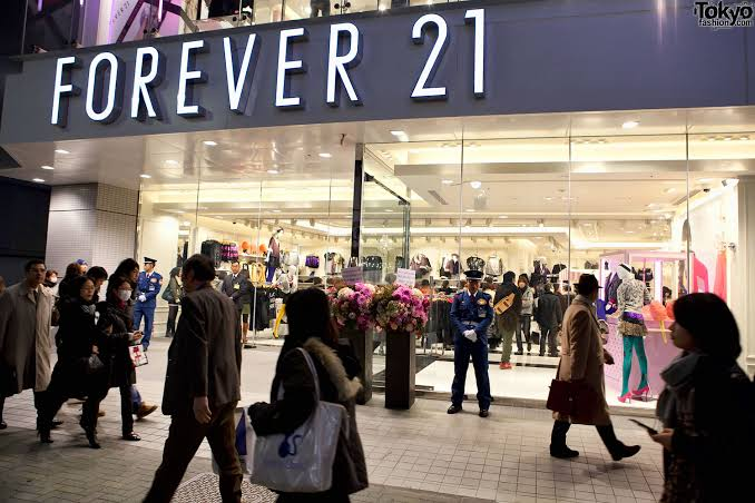 Image result for forever 21 stores