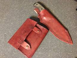 making leather knife sheaths weiser