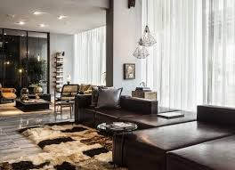living room design ideas in brown and