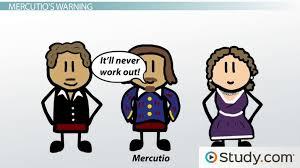 mercutio in romeo and juliet character analysis personality