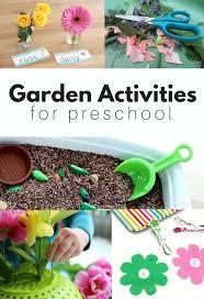 garden activities for preschool no