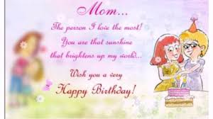 the loving happy birthday mom from daughter wishesgreeting