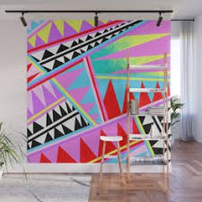 Vaporwave Wall Murals For Any Decor Style Society6