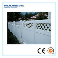 China Roomeye Pvc Fencing Pvc Fence Panels Privacy Fence China Fence Pvc Fence