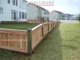 Wood Fence Installation Dc