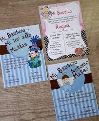 40 Invitaciones Bautizo Con Envio Sin Boletos 309 00 En