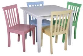 Coaster 5 Piece Kids Table And Chair Set Homemakers Furniture