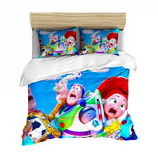 Disney Toy Story Sherif Woody Buzz Lightyear Bedding Set Quilt Duvet Covers Pillowcase Kids Bedroom Decora Boys Bed Single Queen Bedding Sets Aliexpress