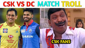CSK VS DC MATCH TROLL VIDEO/IPL 2020 ...
